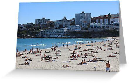 Bondi Beach near Sydney by renprovo