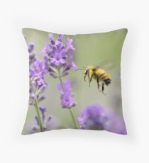 Lavender Approach Throw Pillow