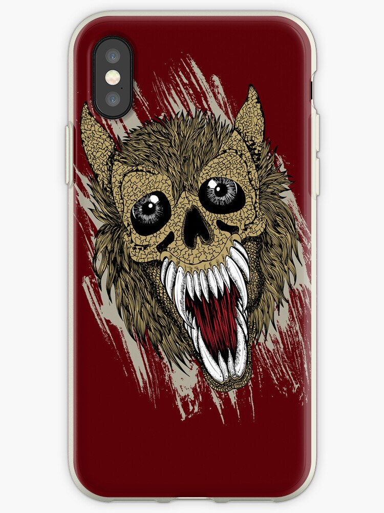 Hellish Beast on Dark Red by pjwuebker