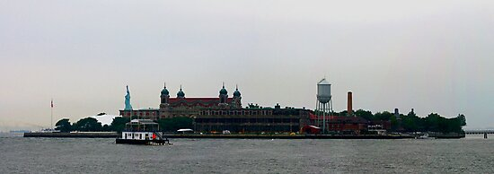 ELIS ISLAND NEW YORK AUGUST 2009 by photographized