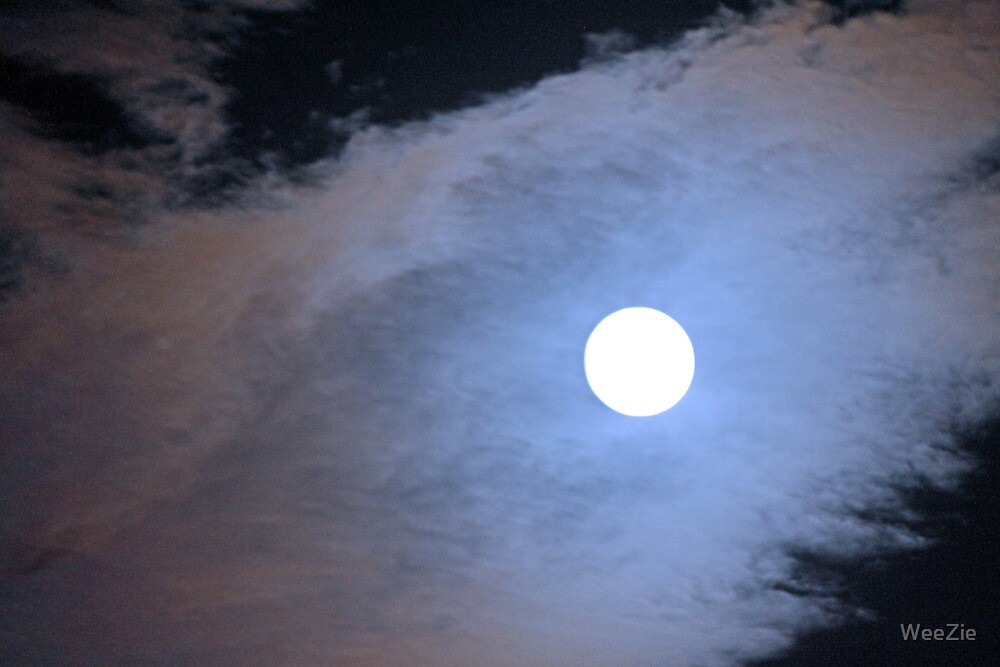 Super Moon by WeeZie