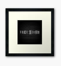 Elections Framed Print