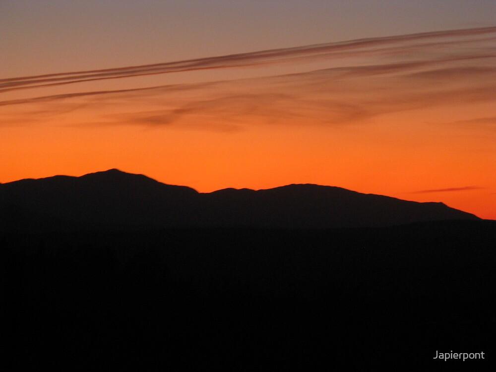 Fall Sunset Vermont by Japierpont