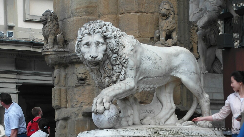 Florence Lion by Jim Sugrue