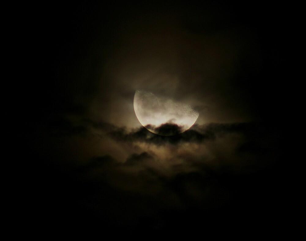 Eerie Moon by Karen Harrison