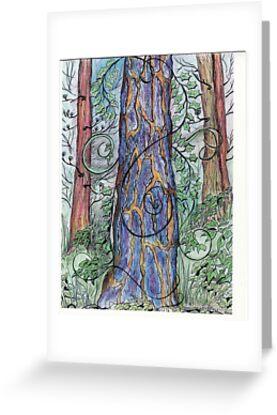 The Blue Tree by merrilymccarthy