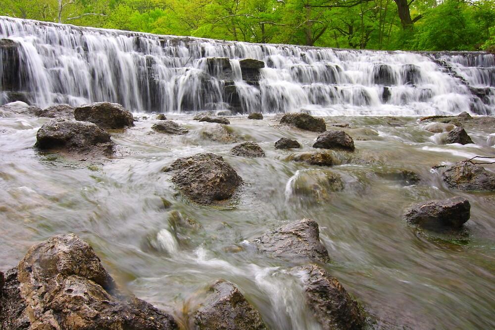 Waterfall  by Christa Binder