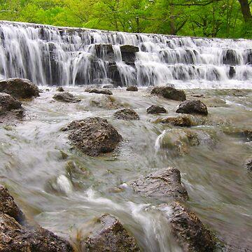 Waterfall  by christacharlene