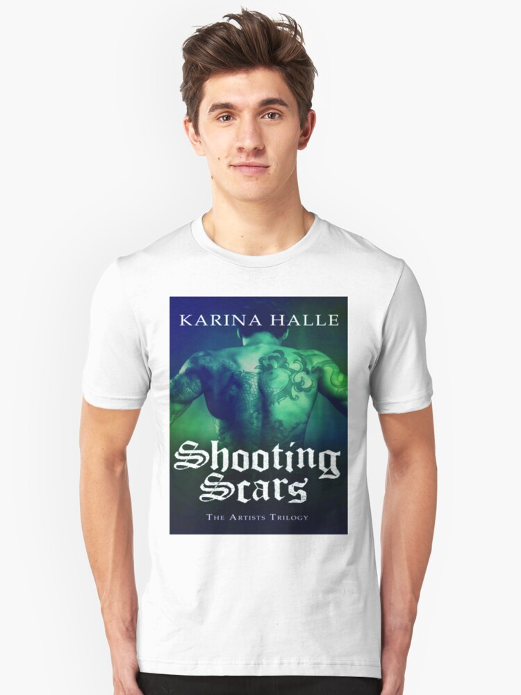 Shooting Scars Cover Unisex T-Shirt Front