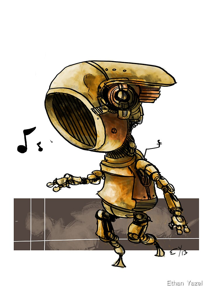 Boogie Bot by EthanBurnsides