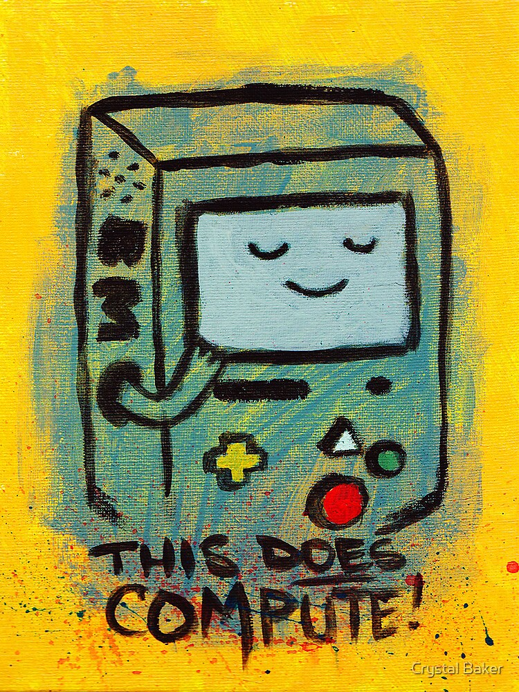 This Does Compute! - BEEMO by crushedheads