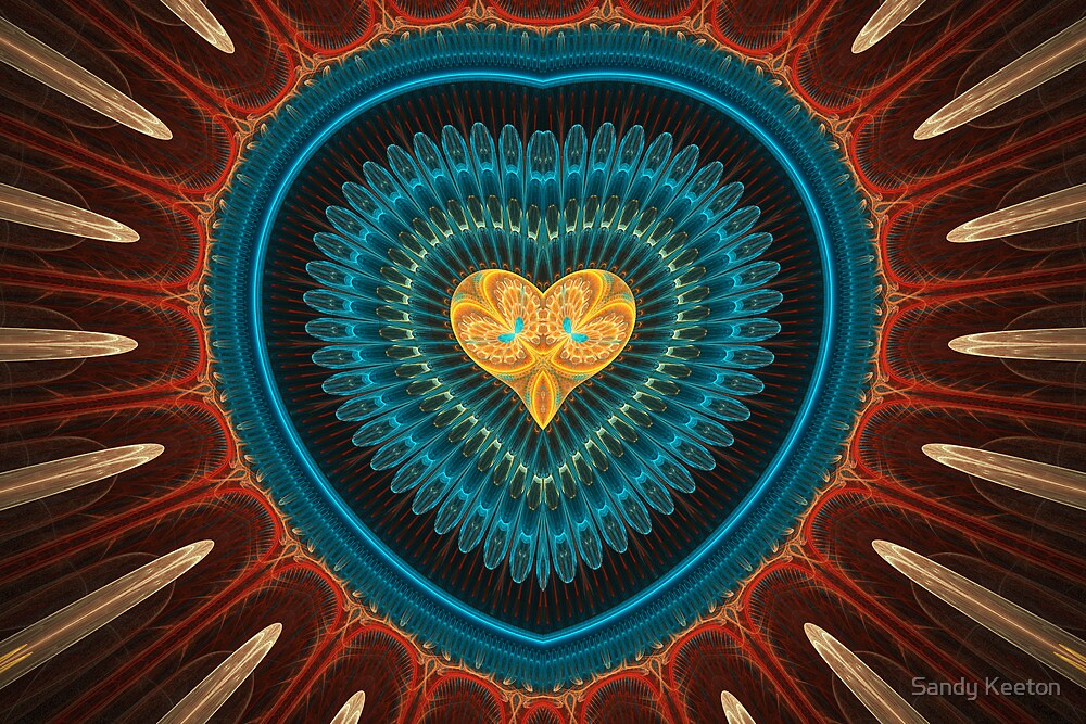 Golden Heart by Sandy Keeton