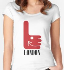 I like London Women's Fitted Scoop T-Shirt