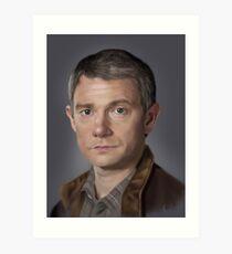 Dr Watson Art Print