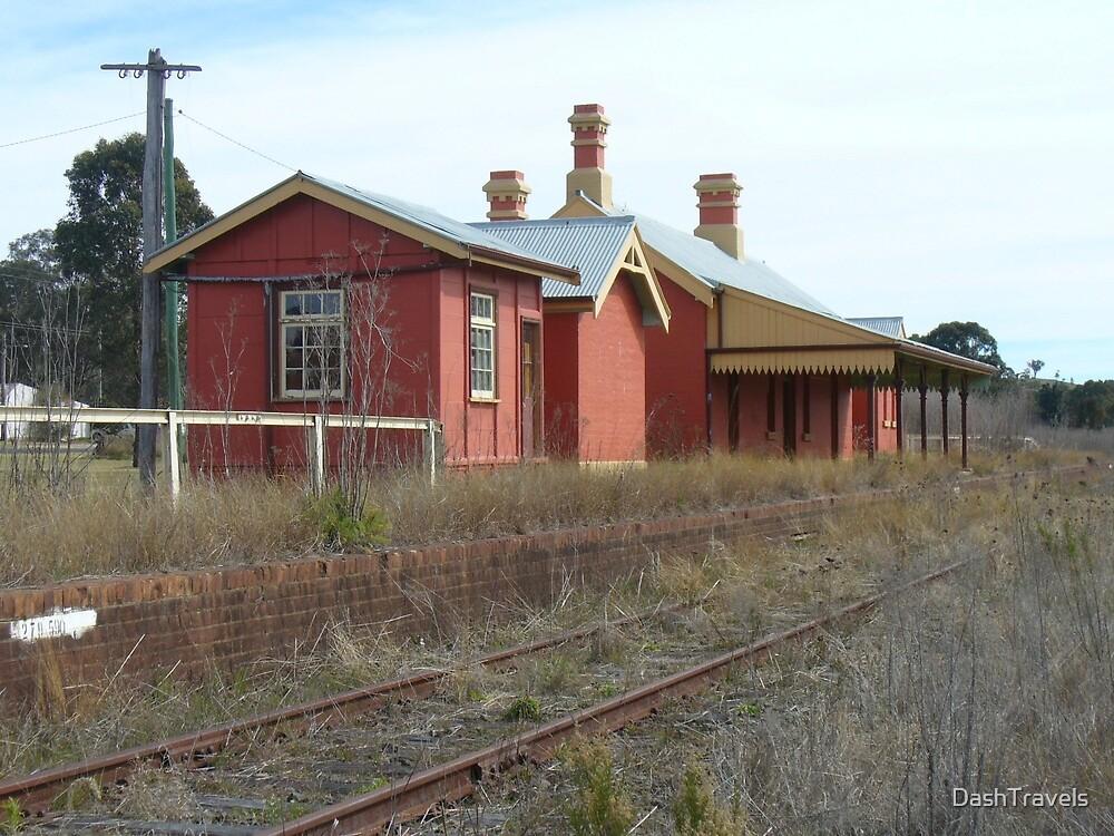 Lue Railway Station - Rural NSW by DashTravels