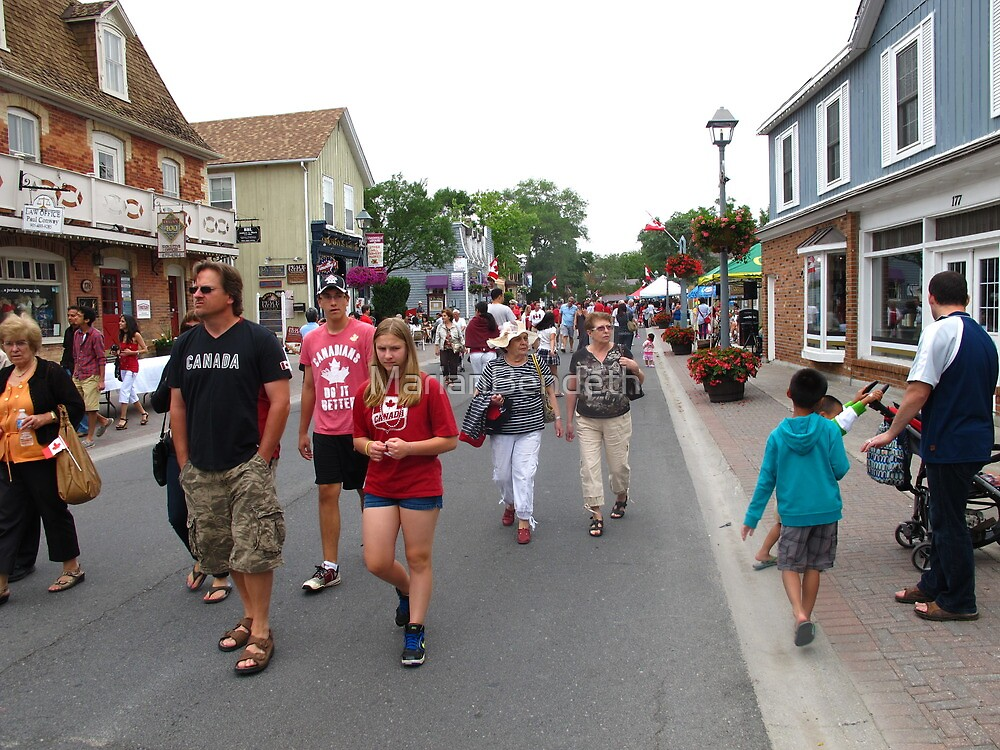 Historic Unionville on Canada Day 2013 by MarianBendeth