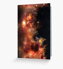 Blaze Nebula Greeting Card