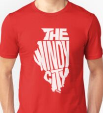 Chicago: The Windy City White Unisex T-Shirt