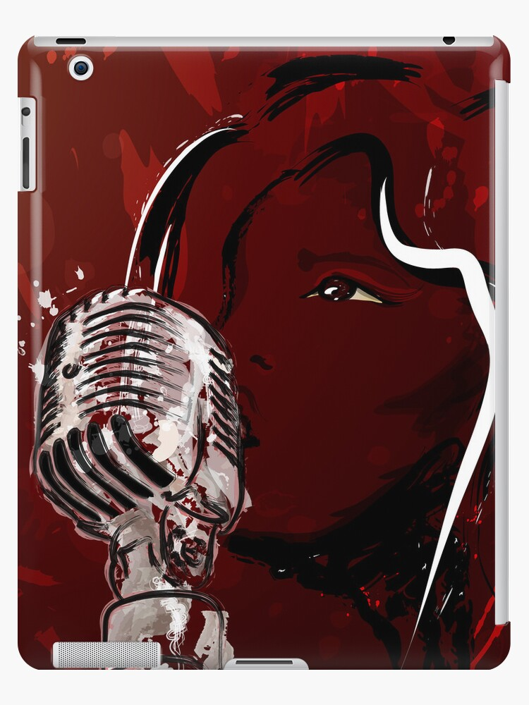A Girls Voice - Singing Girl with Microphone by Attila Acs