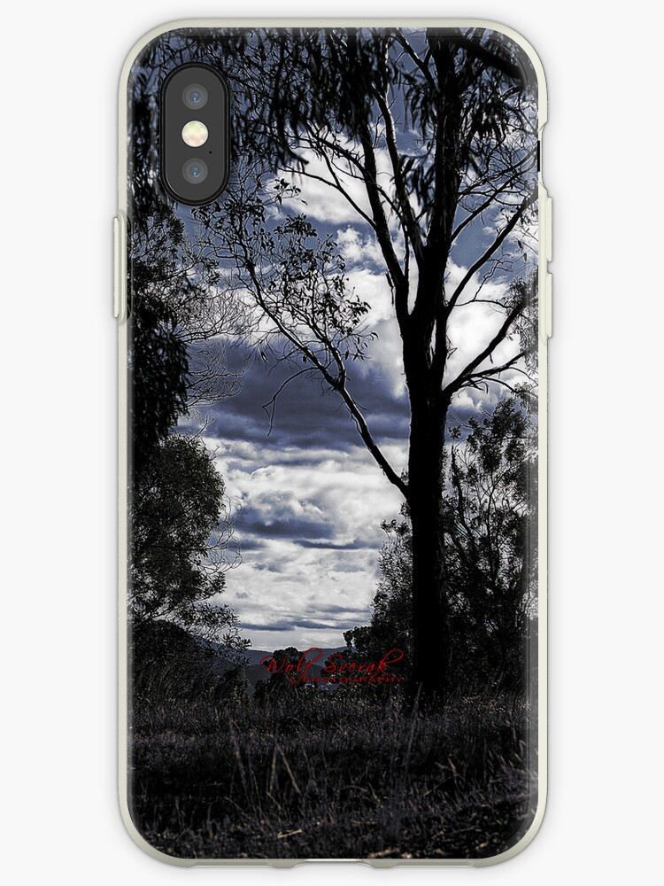 Sunset iPhone case by Wolf Sverak