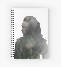 Lexa - The 100 Spiral Notebook