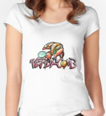 VERDACOMB Orb Suit Shirt Women's Fitted Scoop T-Shirt