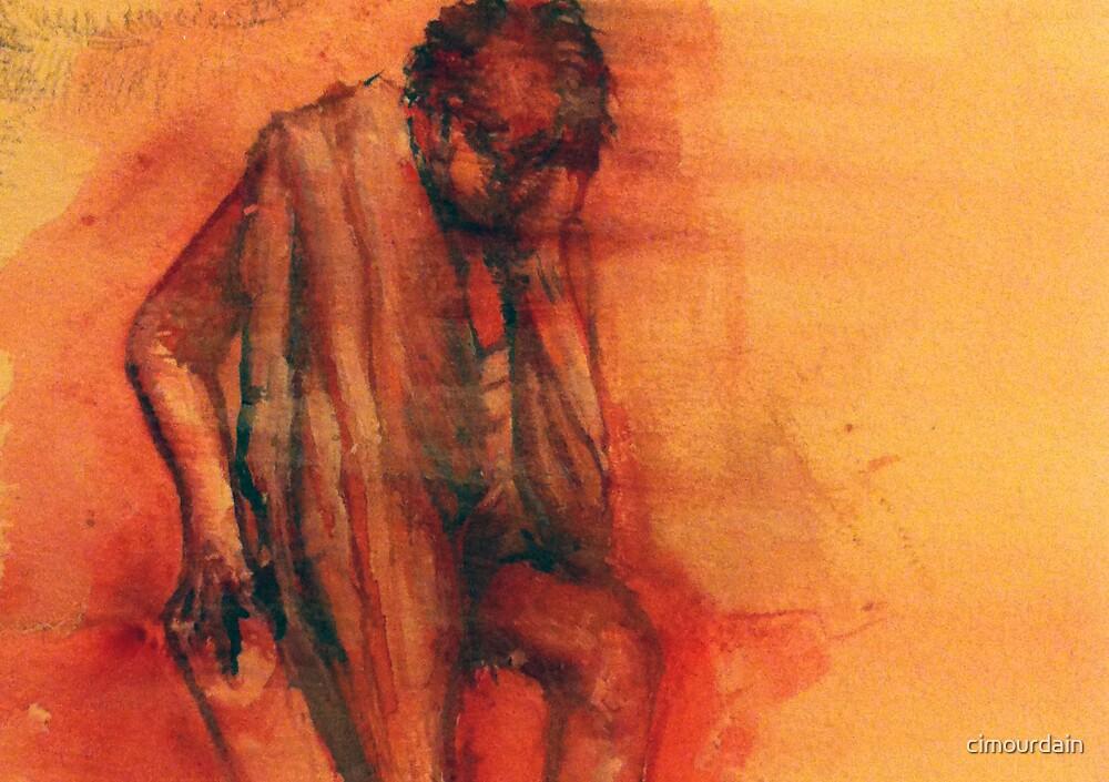 Red figure by cimourdain