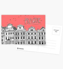 Prague. Postcards