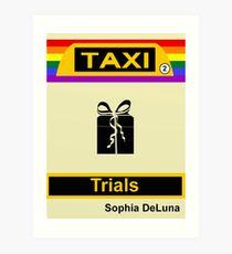 Ebook Cover_Taxi-Trials Art Print