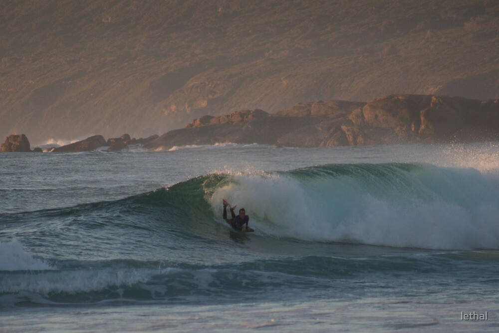 bodyboarder at smiths point, WA by lethal