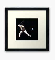 Base earth Framed Print