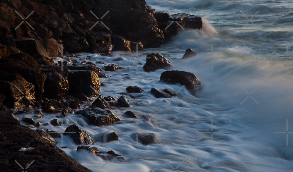 Down by The Rocks_Mornington by Sheryle  Griffiths