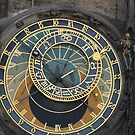 Prague Orloj by Mark Prior