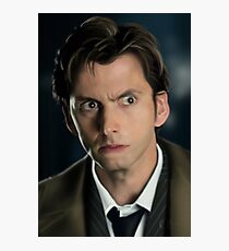 The 10th Dr Who Photographic Print