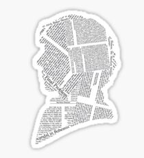 The Pages Of Sherlock Holmes Sticker