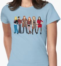 The Companions  Women's Fitted T-Shirt
