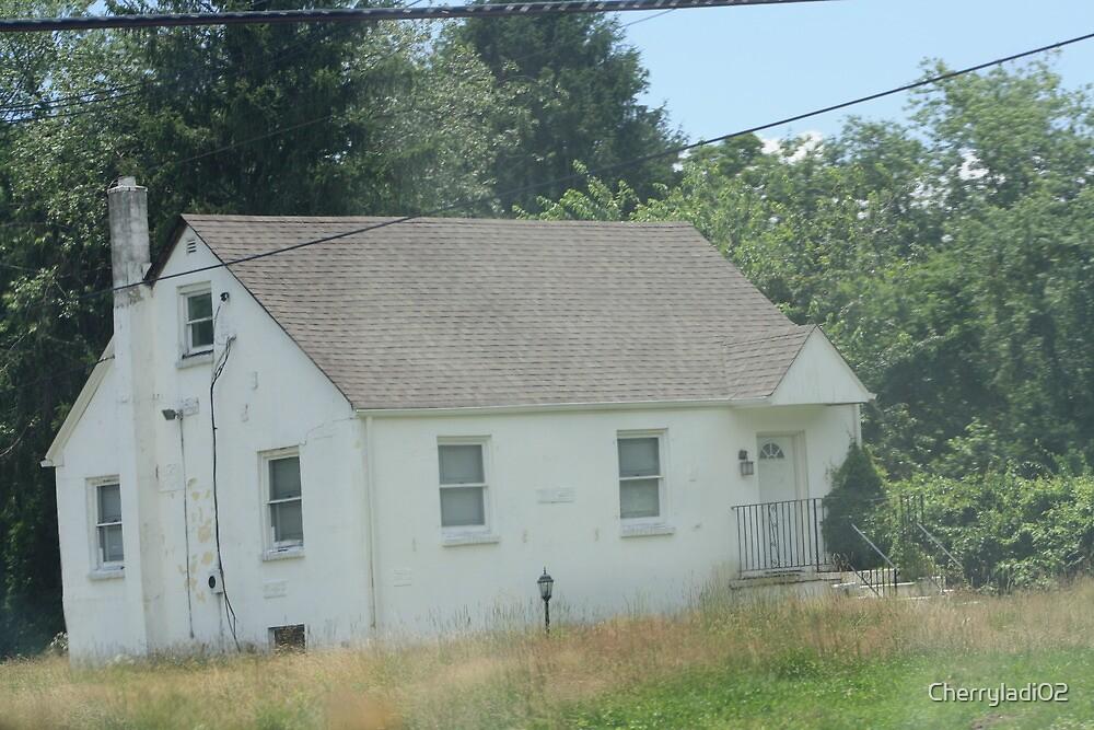 Little white house by Cherryladi02