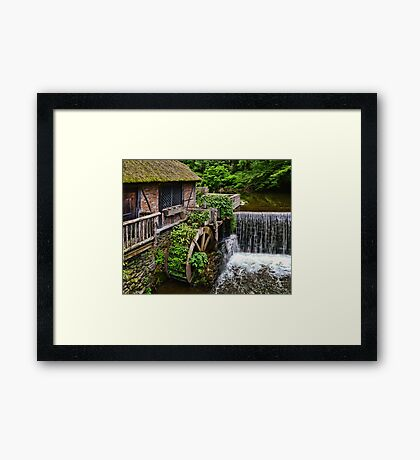 Gomez Mill House The Grist Mill Framed Print