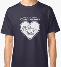 Love in the Time of Chasmosaurs logo: white Classic T-Shirt