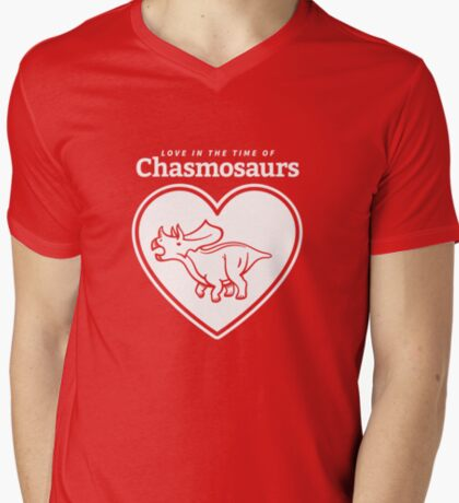 Love in the Time of Chasmosaurs logo: white T-Shirt