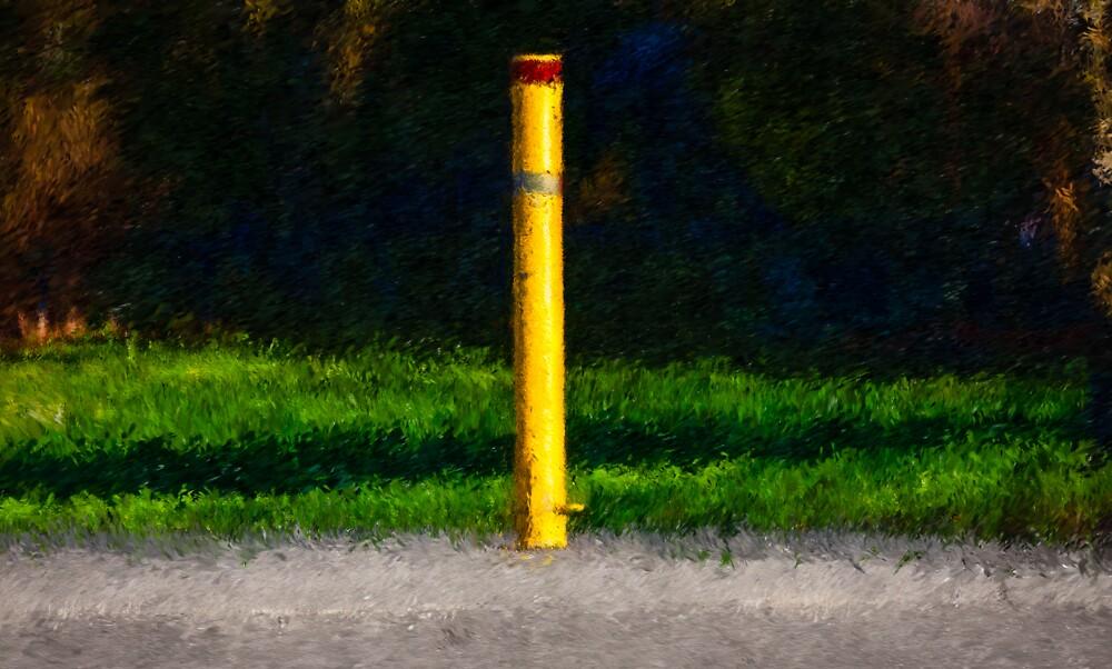 Yellow Post by Wib Dawson