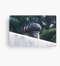 Exhaust  fan I Canvas Print