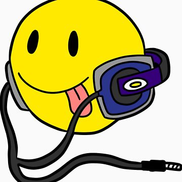 Smiley Headphone by FeranmiQ
