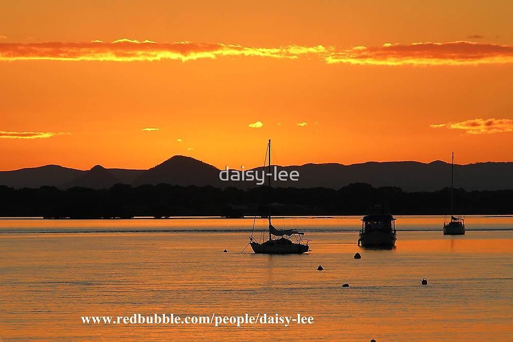 Sunset Bribie Island Queensland 1 by daisy-lee