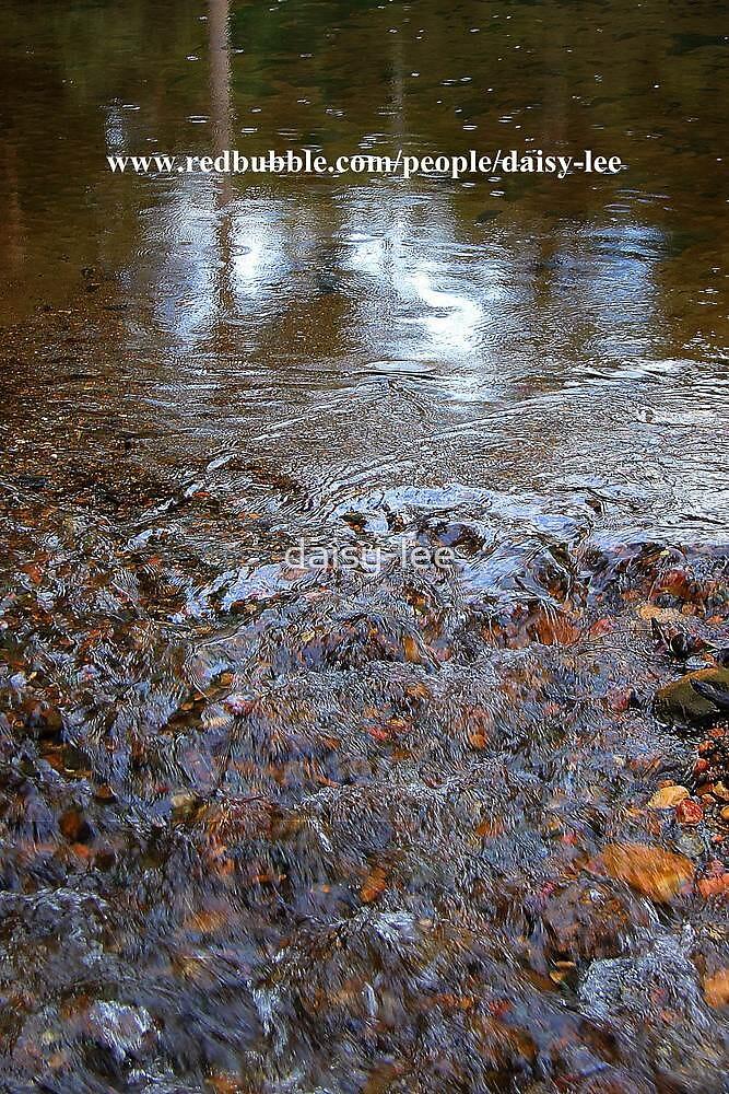 Water over pebbles, Neurum creek, Mt Mee Queensland by daisy-lee