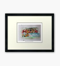 British and Irish Lions Test winners 2013 Framed Print