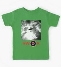 WWII battle of Britain Flight Kids Tee