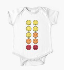 A scale of 1 to 10 - emoticons Kids Clothes
