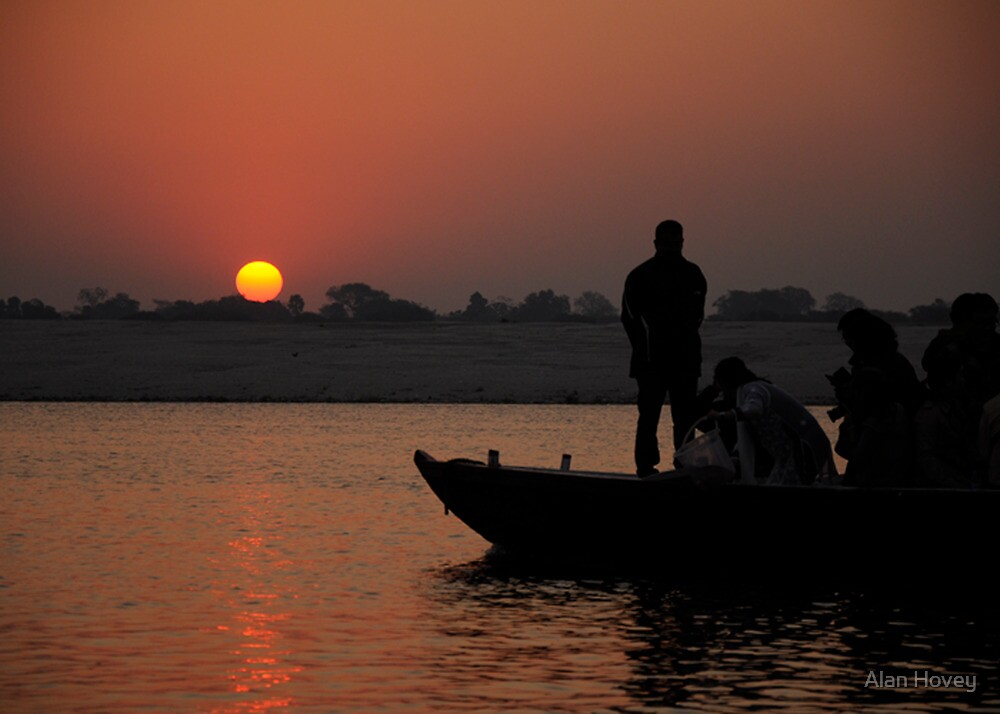 Daybreak on the Ganges by Alan Hovey