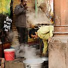 On the Streets in Old Delhi by Alan Hovey